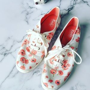 Keds Red Poppy Sneakers